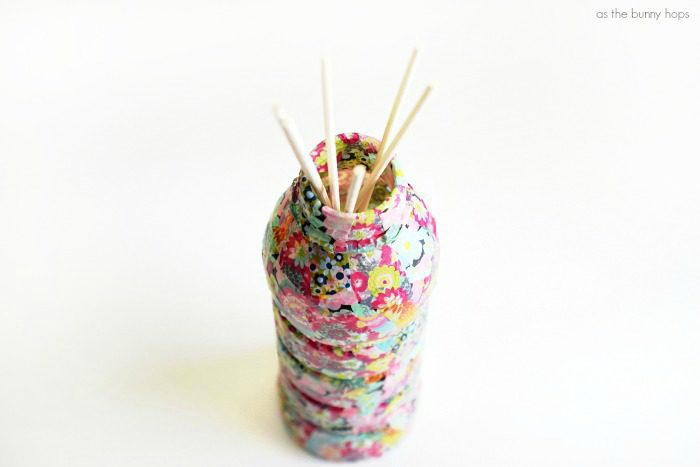 Upcycled Plastic Bottle Reed Diffuser