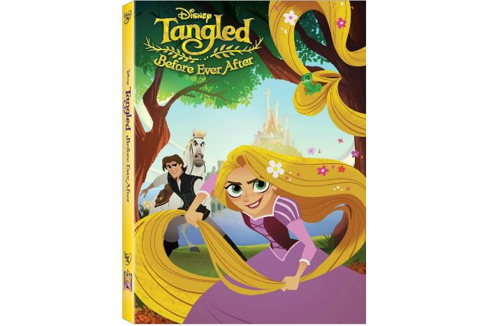 Tangled Before Ever After on DVD