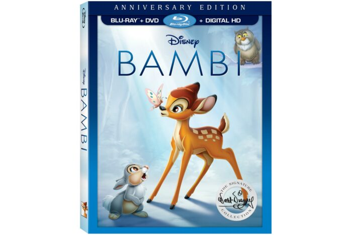 Bambi on DVD, Blu-Ray and Digital HD