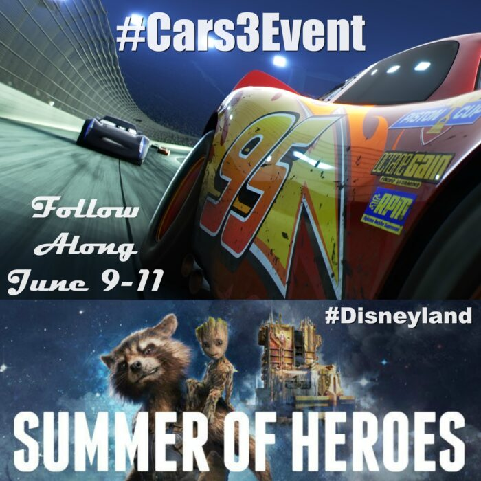 A Cars 3 and Disneyland Summer of Heroes Adventure