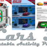 Cars 3: Printable Activity Pages