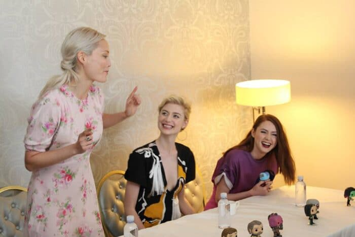 Karen Gillan, Pom Klementieff and Elizabeth Debicki: The Guardians of the Galaxy Vol. 2 Interview