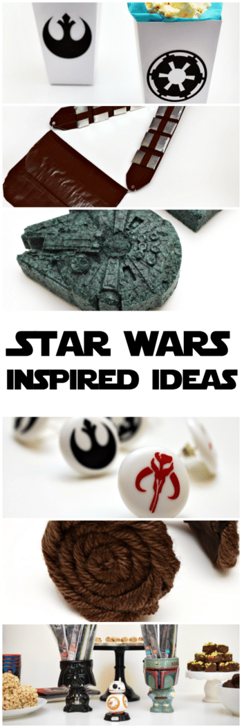 May the 4th be with you when you try your hand at these Star Wars-inspired ideas!