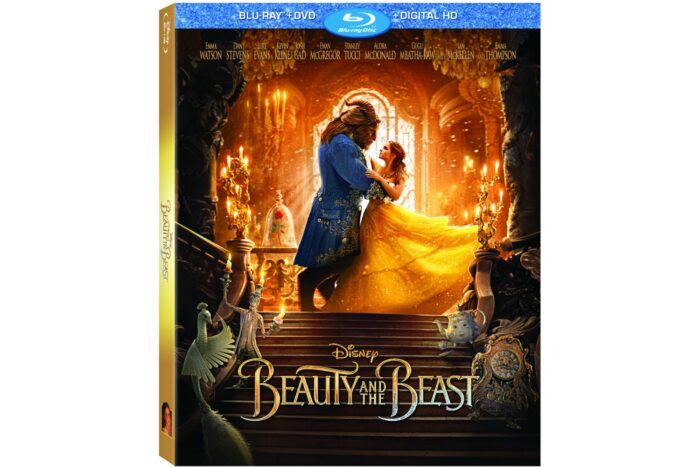 Beauty and the Beast on Blu-Ray, DVD and Digital HD