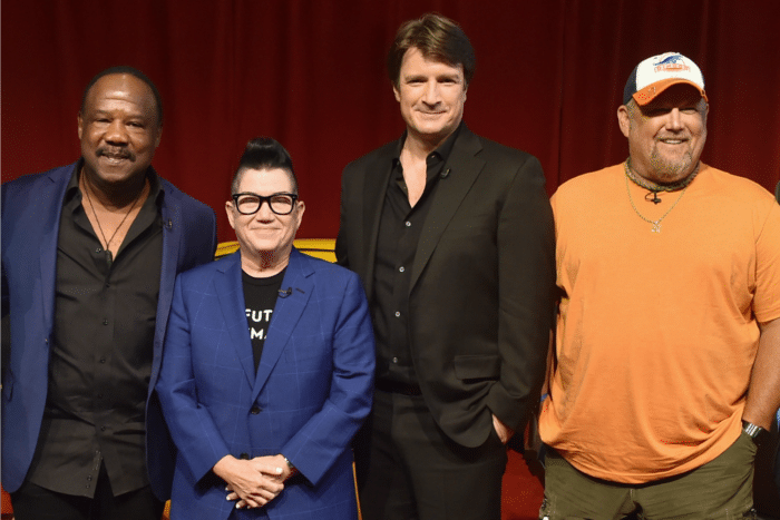 Larry The Cable Guy, Nathan Fillion, Isiah Whitlock Jr. and Lea DeLaria: The Cars 3 Interview