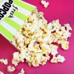 Celebrate Movie Night With Birthday Cake Popcorn