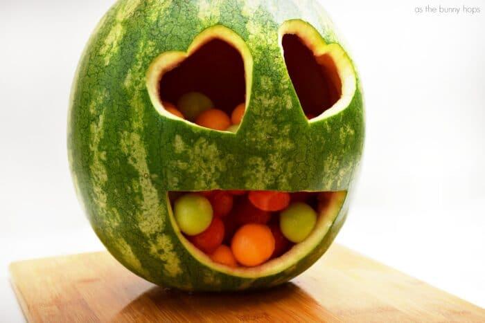 Fun Emoji Watermelon Carving