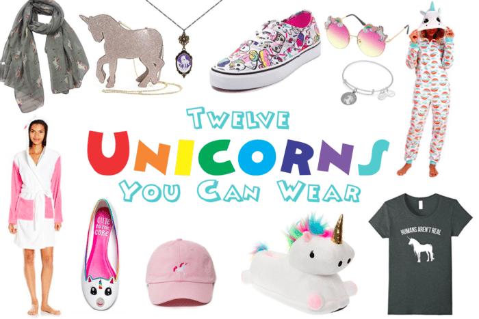 Twelve Unicorns You Can Wear