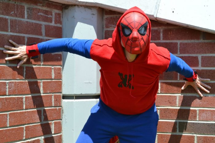 I took part in a Spider-Man: Homecoming inspired costume challenge. Check out the results!