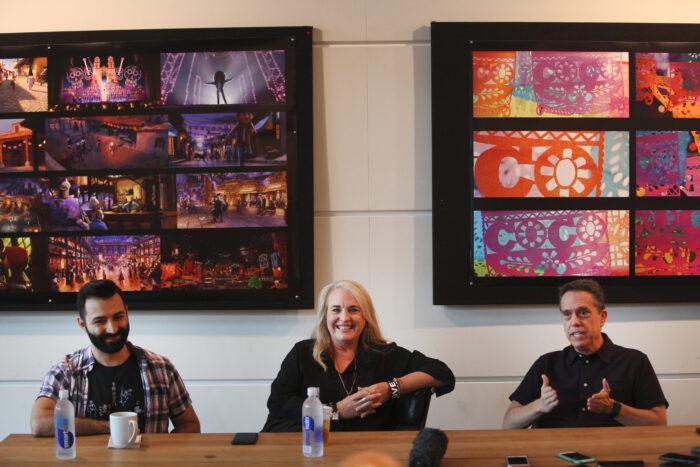 Behind The Scenes of Disney-Pixar's Coco with Lee Unkrich,  Adrian Molina and Darla K. Anderson
