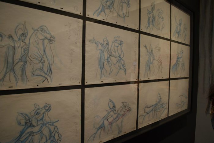 You can explore the art of Andrea Deja now during a special exhibit at the Walt Disney Family Museum.