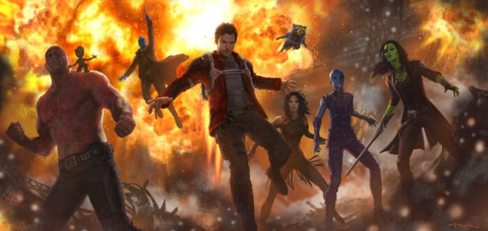 Own Guardians of the Galaxy Vol. 2-And Check Out New Concept Art and Video Clips!