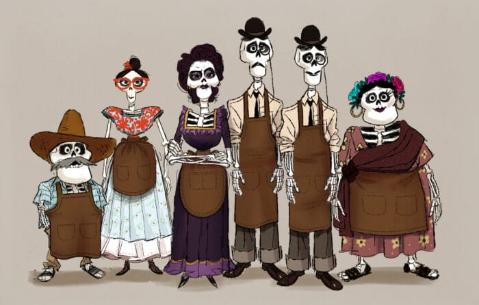 Creating The Skeletons In Pixar's Coco