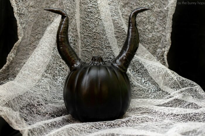 Well, Well… Make A Maleficent Pumpkin For Halloween!