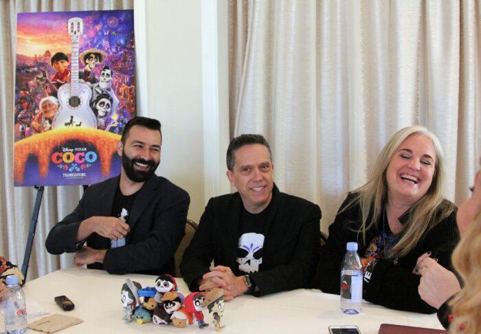 Lee Unkrich, Adrian Molina and Darla K. Anderson Discuss Pixar's Coco