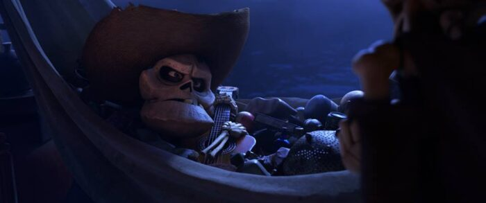 Edward James Olmos is the voice of Chicharrón in Pixar's Coco