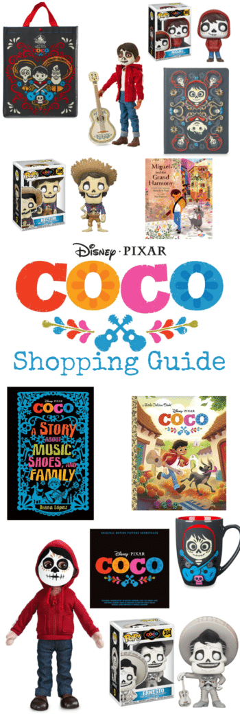 Find the perfect gift for the Pixar fans on your list with this Ultimate Coco Shopping Guide!