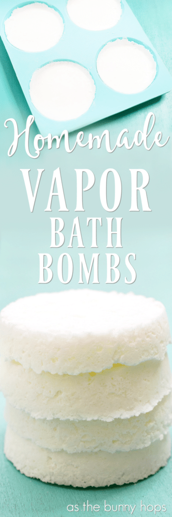 Get ready for whatever winter throws at you with these homemade vapor bath bombs!