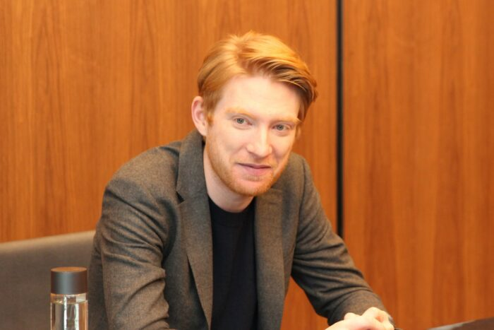 Domhnall Gleeson Discusses His Role As General Hux in Star Wars: The Last Jedi