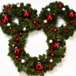 Santa Mickey Christmas Wreath