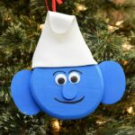 DIY Smurf Christmas Ornament