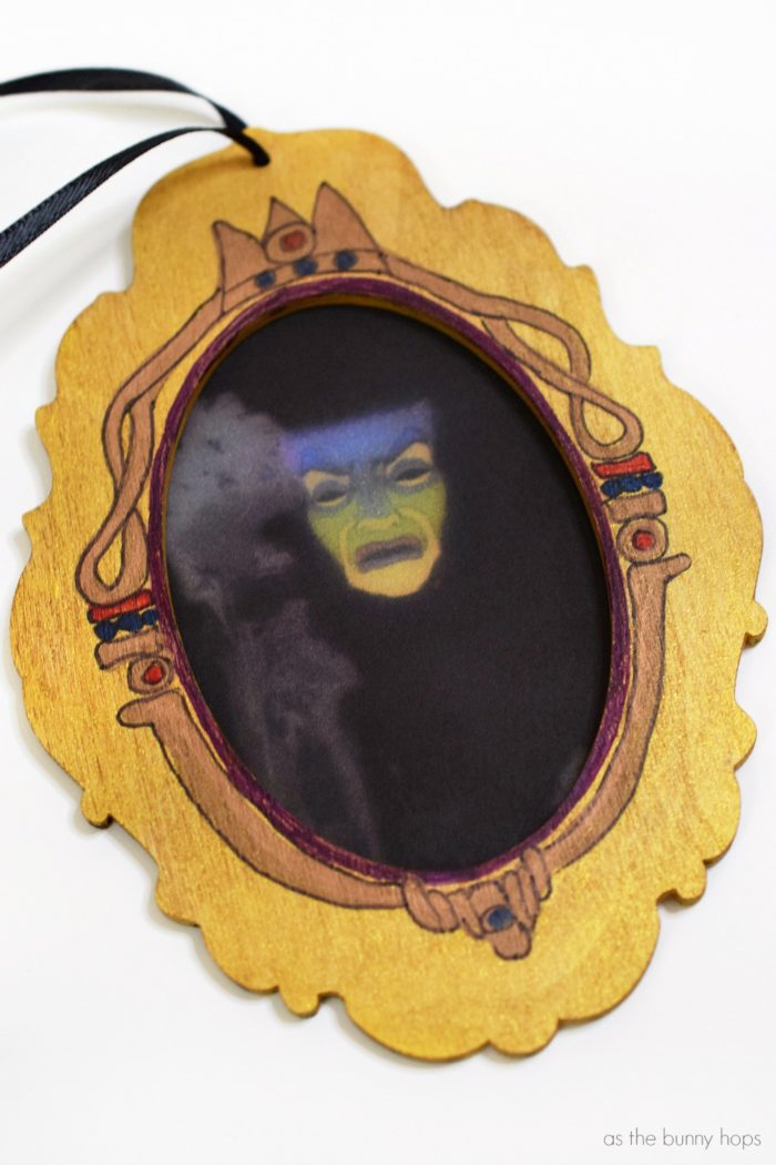 Snow white inspired magic mirror christmas ornament as the bunny hops mirror mirror on the wall make the fairest decoration of them all when you this snow white inspired teraionfo
