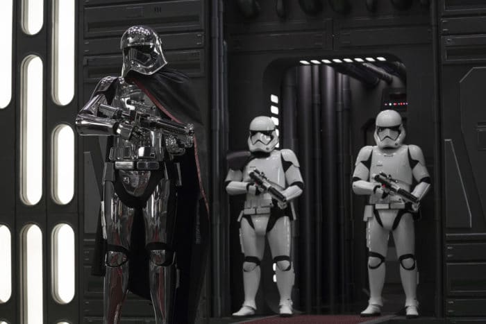 Gwendoline Christie discusses what drives Captain Phasma-and what it's like to put on that costume in Star Wars: The Last Jedi!