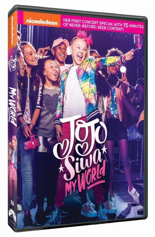 JoJo Siwa My World On DVD As The Bunny Hops