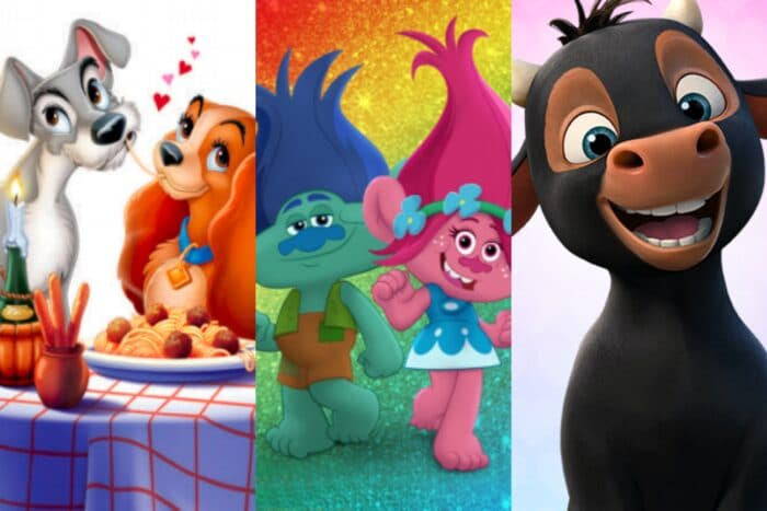 Download printable Valentine's Day cards from Lady and the Tramp, Ferdinand, Trolls: The Beat Goes On, Wonder, Ben 10 and DreamWorks Animation!