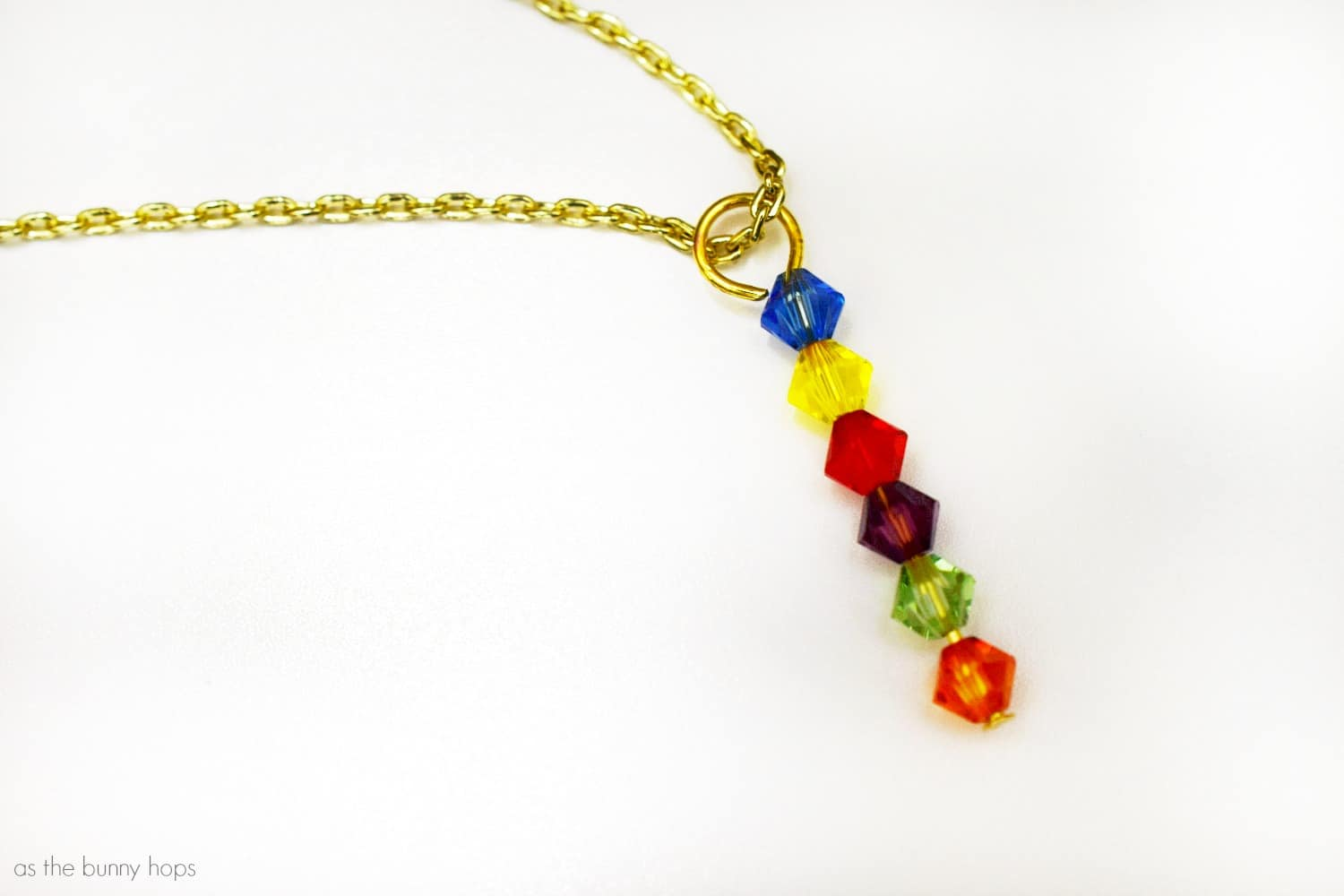 Avengers Infinity War Inspired Infinity Stone Necklace