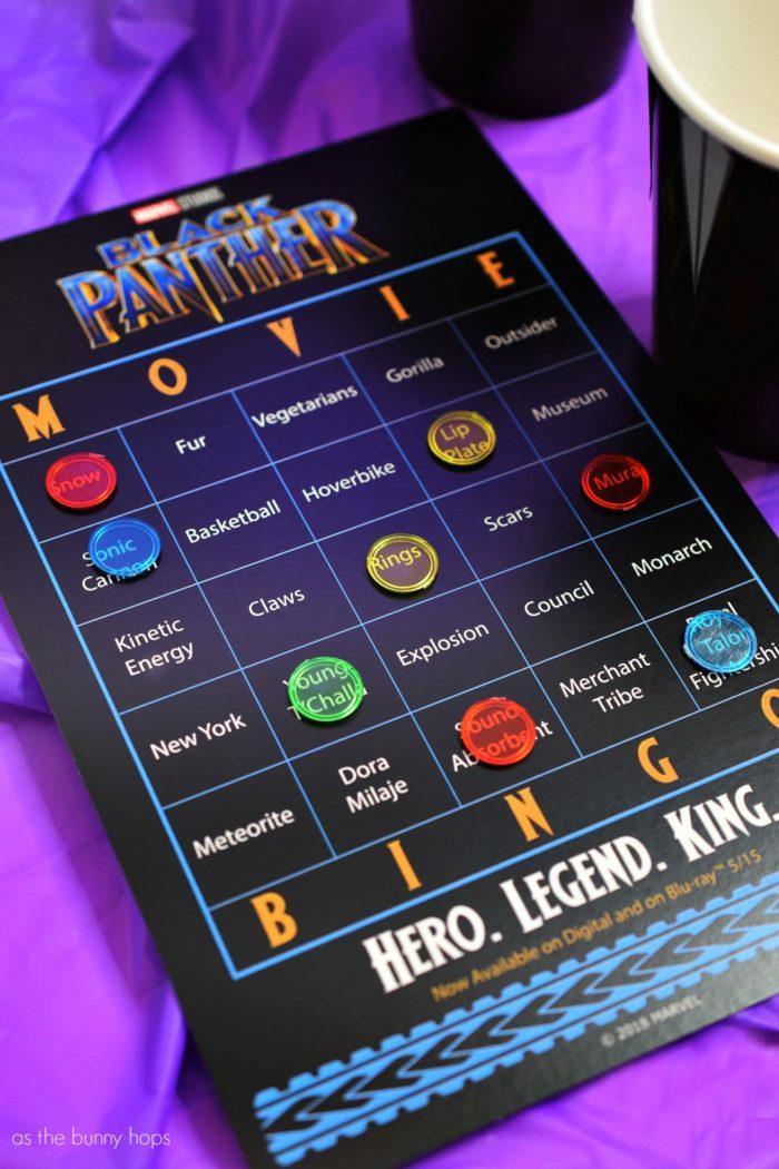 Image result for black panther bingo