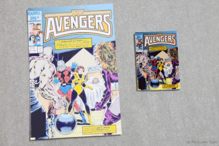 Shrink Plastic Comic Book Jewelry As The Bunny Hops 174