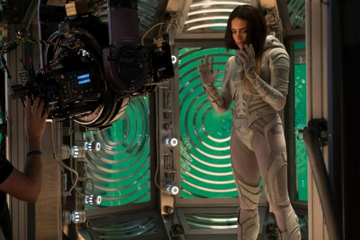 Hannah John-Kamen as Ghost behind the scenes. Ant-Man and the Wasp's Hannah John-Kamen plays Ghost in the film, but is her character actually the bad guy?