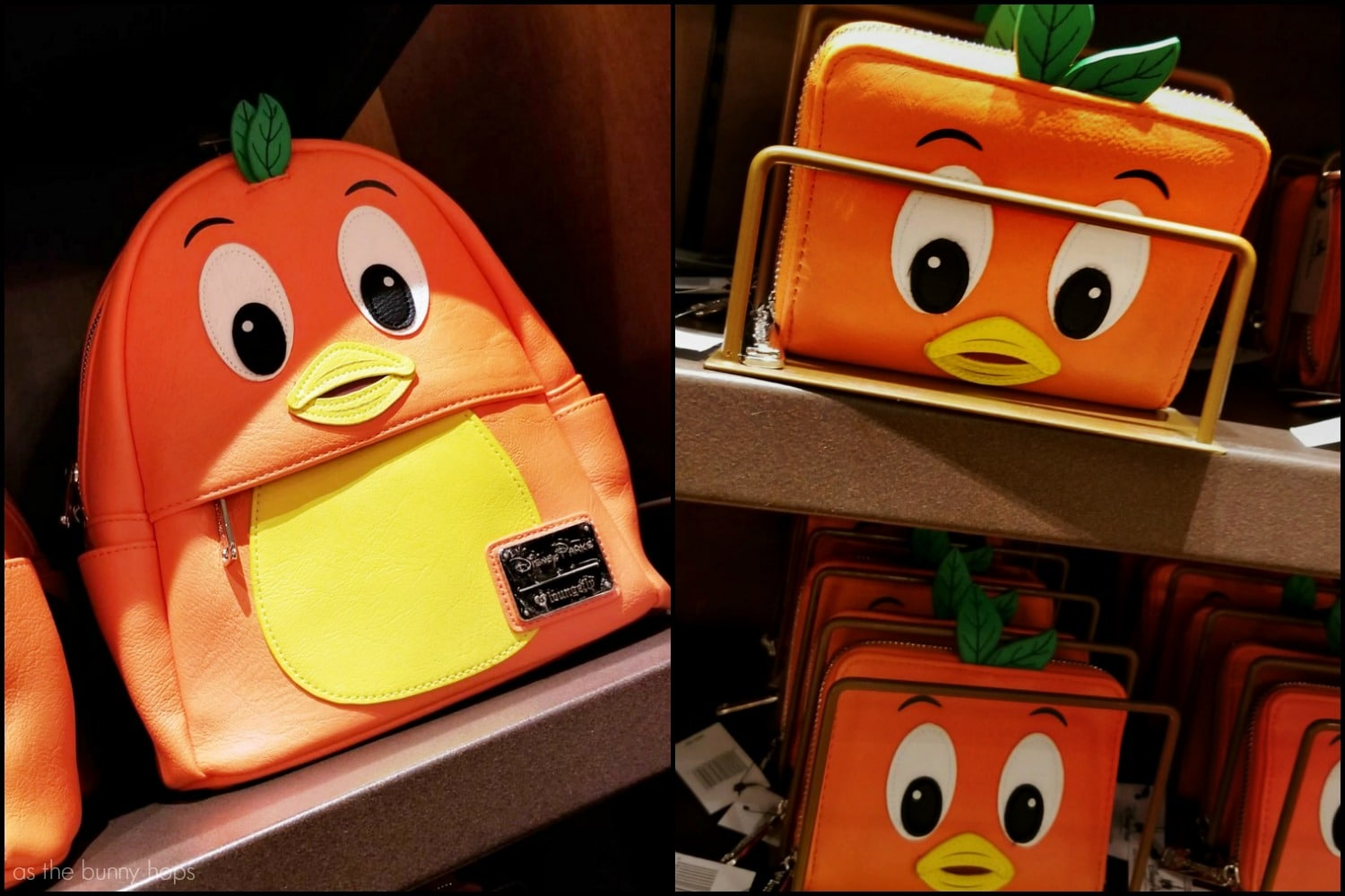 5416baf6765 The Orange Bird Backpack and Wallet From Loungefly Are Here To Bring A  Little Sunshine (Terrace) To Your Day