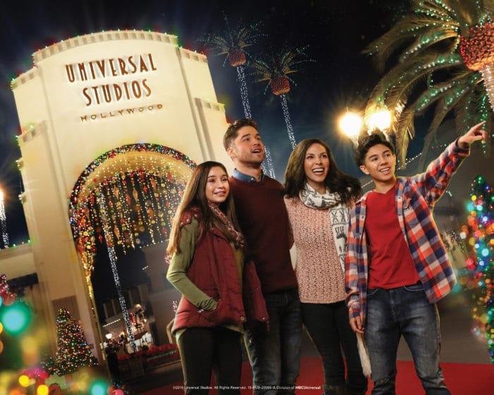 At Universal Studios Hollywood