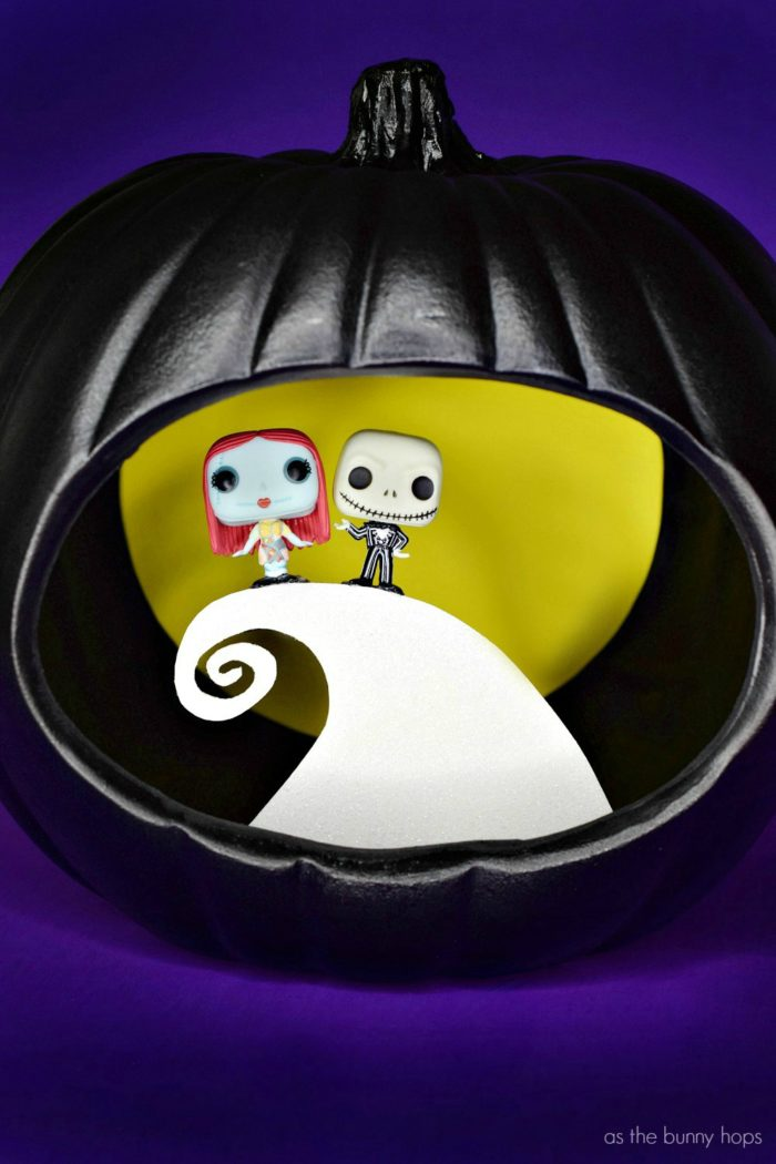 The Nightmare Before Christmas Funko Pop Pumpkin As The Bunny Hops