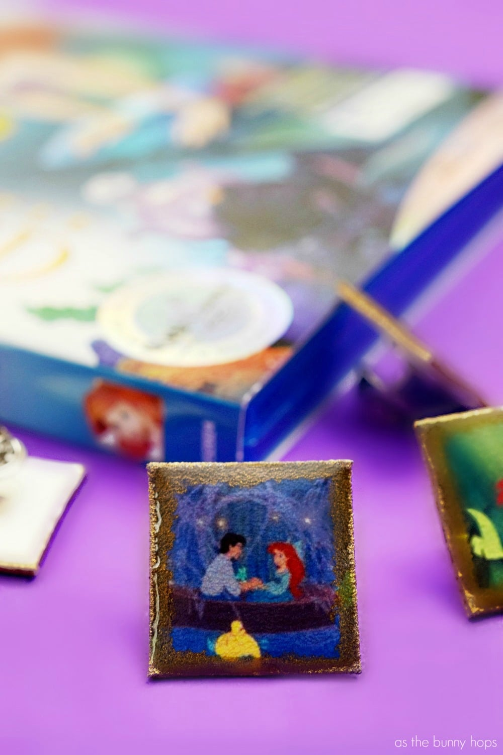 Celebrate The Little Mermaid's 30th Anniversary with these fun to make shrink plastic pins!